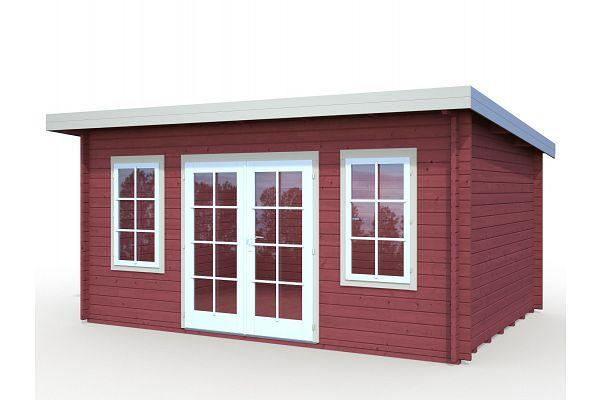 gartenhaeuser und geraetehaeuser flachdaecher pultdaecher. Black Bedroom Furniture Sets. Home Design Ideas