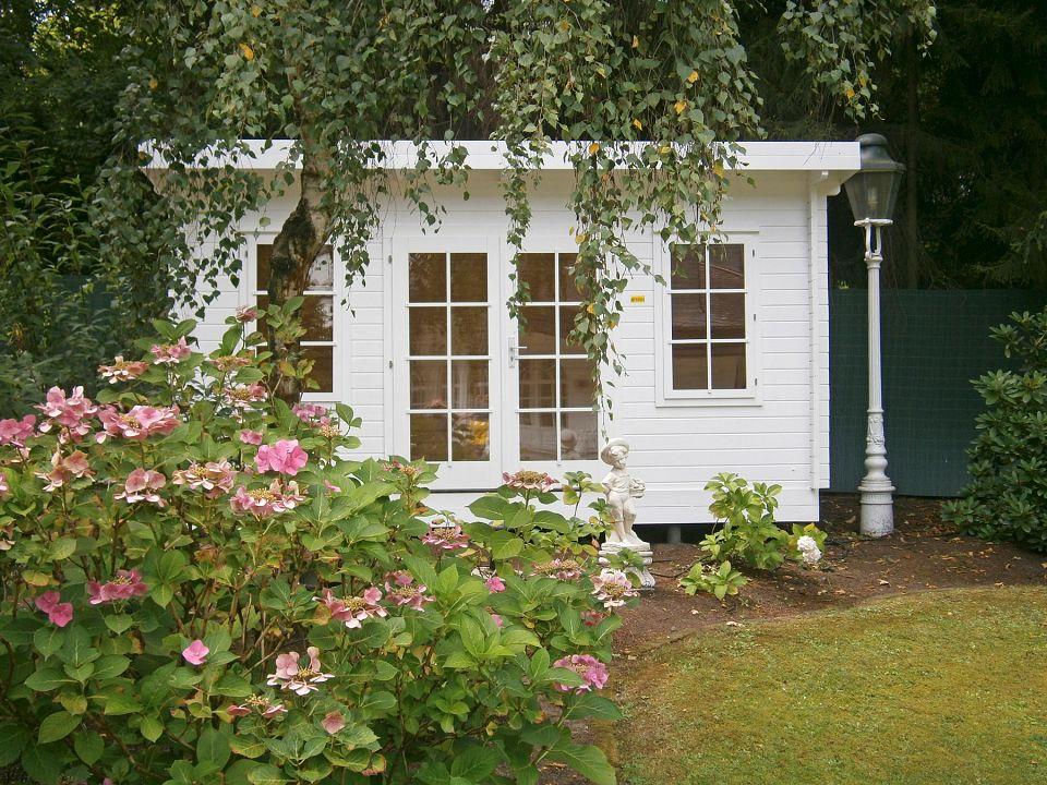 gartenhaus und ger tehaus flachdach pultdach flat style 1. Black Bedroom Furniture Sets. Home Design Ideas