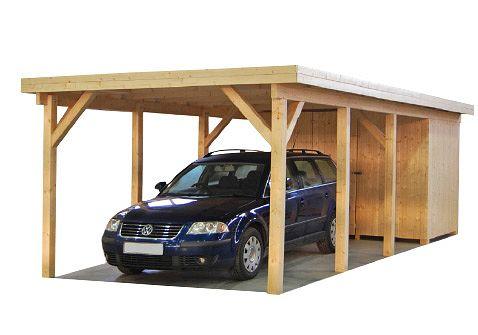 carports und garagen carports aus holz max 2 ger teraum von steinhauer gut und g nstig. Black Bedroom Furniture Sets. Home Design Ideas