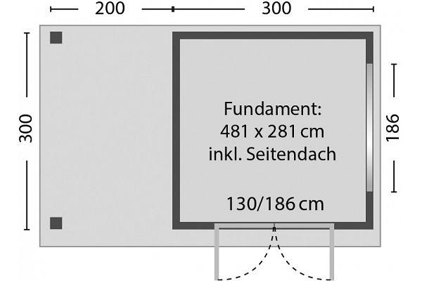 gartenhaus und ger tehaus flachdach pultdach stabilo 2 sd kaufen. Black Bedroom Furniture Sets. Home Design Ideas